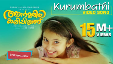 Photo of Kurumbathi Chundari Nee Song Lyrics | Ann Mariya Kalippilanu Malayalam Movie Songs Lyrics