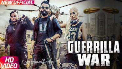 Photo of Guerrilla War Song Lyrics | Amrit Maan Punjabi Song Lyrics
