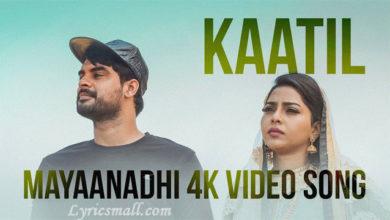Photo of Kaatil Song Lyrics | Mayaanadhi Malayalam Movie Songs Lyrics