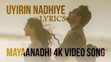 Photo of Uyirin Nadhiye Song Lyrics | Mayaanadhi Malayalam Movie Songs Lyrics