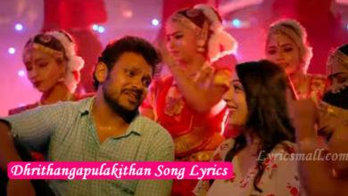 Photo of Dhrithangapulakithan Song Lyrics | Kalyanam Movie Songs Lyrics