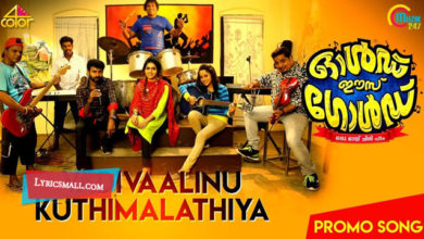 Photo of Vadivaalinu Song Lyrics | Old Is Gold Malayalam Movie Songs Lyrics