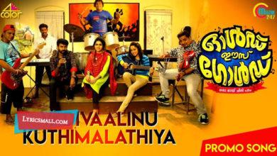 Photo of Vadivaalinu Song Lyrics | Old Is Gold Malayalam Movie Songs Lyrics