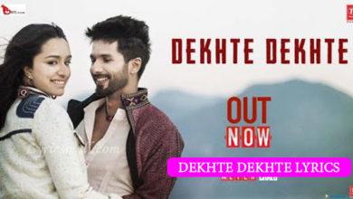 Photo of Dekhte Dekhte Song Lyrics | Batti Gul Meter Chalu Movie Songs Lyrics