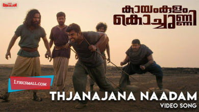 Photo of Thjanajana Naadam Song Lyrics | Kayamkulam Kochunni Movie Songs Lyrics