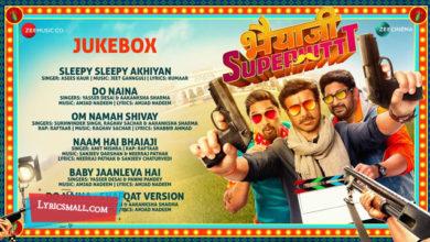 Photo of Do Naina Lyrics | Bhaiaji Superhit Movie Songs Lyrics