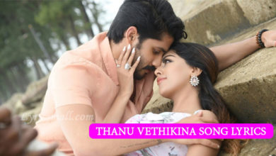 Photo of Thanu Vethikina Song Lyrics | Shailaja Reddy Alludu Movie Songs Lyrics