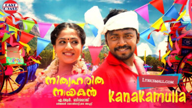 Photo of Kanakamulla Lyrics | Nithya Haritha Nayakan Movie Songs Lyrics