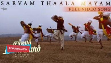 Photo of Sarvam Thaala Mayam Lyrics | Sarvam Thaala Mayam Movie Songs Lyrics