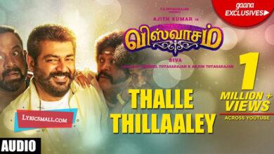 Photo of Thalle Thillaaley Lyrics | Viswasam Tamil Movie Songs Lyrics