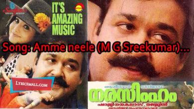Photo of Amme Nile Lyrics | Narasimham Movie Songs Lyrics