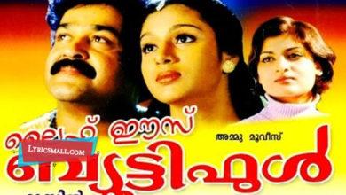 Photo of Vaalittezhuthiya Lyrics   Life is Beautiful Movie Songs Lyrics