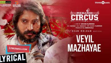 Photo of Veyil Mazhayae Lyrics | Mehandi Circus Tamil Movie Songs Lyrics