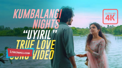 Photo of Uyiril Thodum Lyrics | Kumbalangi Nights Movie Songs Lyrics
