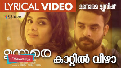Photo of Kaattil Veezha Lyrics | Uyare Malayalam Movie Songs Lyrics