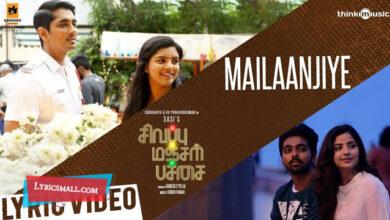 Photo of Mailaanjiye Lyrics | Sivappu Manjal Pachai Movie Songs Lyrics