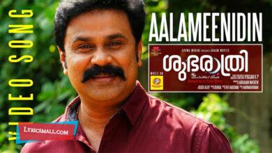 Photo of Aalameenidin Lyrics | Shubarathri Malayalam Movie Songs Lyrics