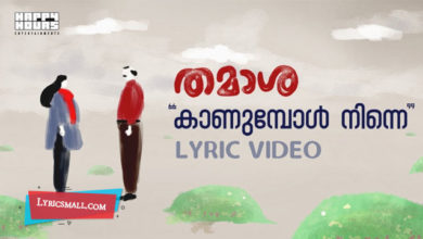 Photo of Kaanumbol Ninne Lyrics | Thamaasha Movie Songs Lyrics