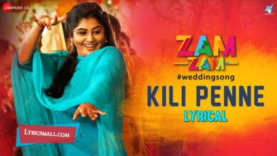 Photo of Kili Penne Lyrics | Zam Zam Malayalam Movie Songs Lyrics