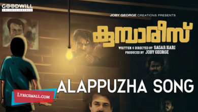 Photo of Aalippazham Pole Lyrics | Kumbarees Malayalam Movie Songs Lyrics