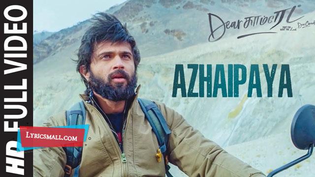 Azhaipaya Lyrics