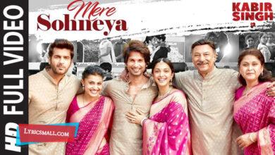 Photo of Mere Sohneya Lyrics | Kabir Singh Hindi Movie Songs Lyrics