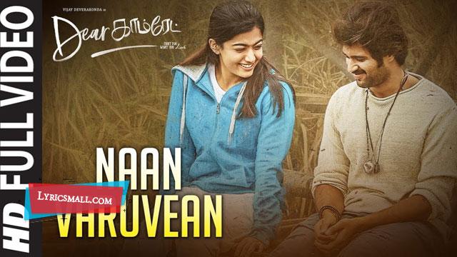 Naan Varuvean Lyrics