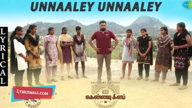 Photo of Unnale Unnale Lyrics | Kennedy Club Tamil Movie Songs Lyrics