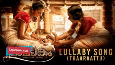 Photo of Lullaby – Thaaraattu Lyrics | Mamangam Malayalam Movie Songs Lyrics