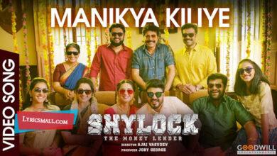 Photo of Manikya Kiliye Lyrics   Shylock Malayalam Movie Songs Lyrics