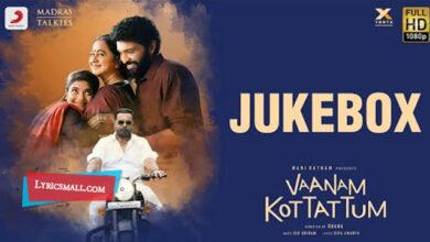 Photo of Mannava Lyrics | Vaanam Kottattum Tamil Movie Songs Lyrics