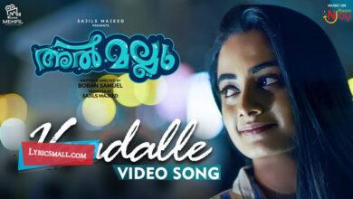 Photo of Vaadalle Vaadalle Lyrics | Al Mallu Malayalam Movie Songs Lyrics