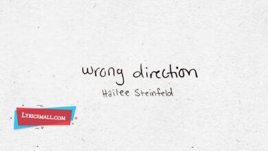 Photo of Wrong Direction Lyrics   Hailee Steinfeld