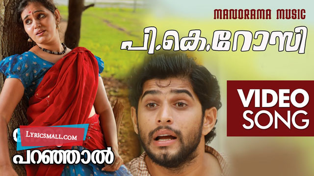 Photo of Neruparanjal Ninne Lyrics | P K Rosy Malayalam Movie Songs Lyrics