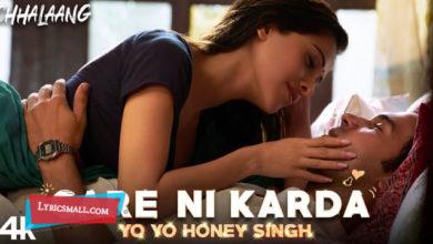 Photo of Care Ni Karda Lyrics | Chhalaang Hindi Movie Songs Lyrics