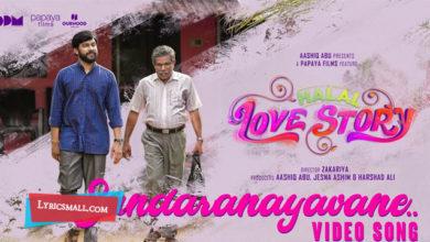 Photo of Sundaranaayavane Lyrics | Halal Love Story Movie Songs Lyrics