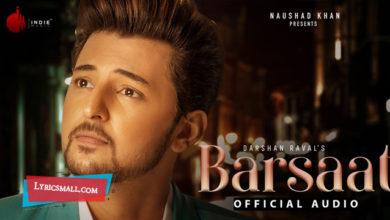 Photo of Barsaat Lyrics | Judaiyaan Hindi Album Songs Lyrics