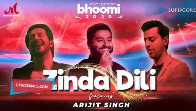 Photo of Zinda Dil Lyrics | Bhoomi Hindi Movie Songs Lyrics