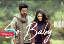 Photo of So Baby Lyrics | Doctor Tamil Movie Songs Lyrics