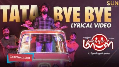 Photo of Tata Bye Bye Lyrics | Vannakkamda Mappilei Movie Songs Lyrics