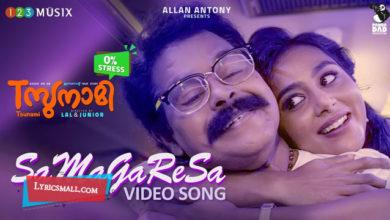 Photo of SaMaGaReSa Lyrics | Tsunami Malayalam Movie Songs Lyrics